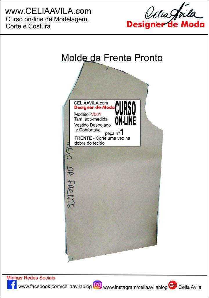 MOLDE DA FRENTE PRONTO