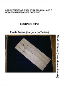 GOLA PALHAÇO E ESCAFANDRO - SEGUNDO TIPO